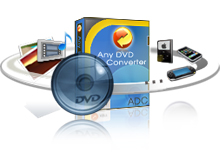 Any Video Converter GoldはDVDを003SH携帯動画に変換ソフト